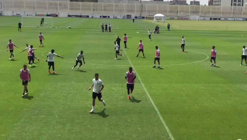 Ronaldo never stops, not even in training 🔥