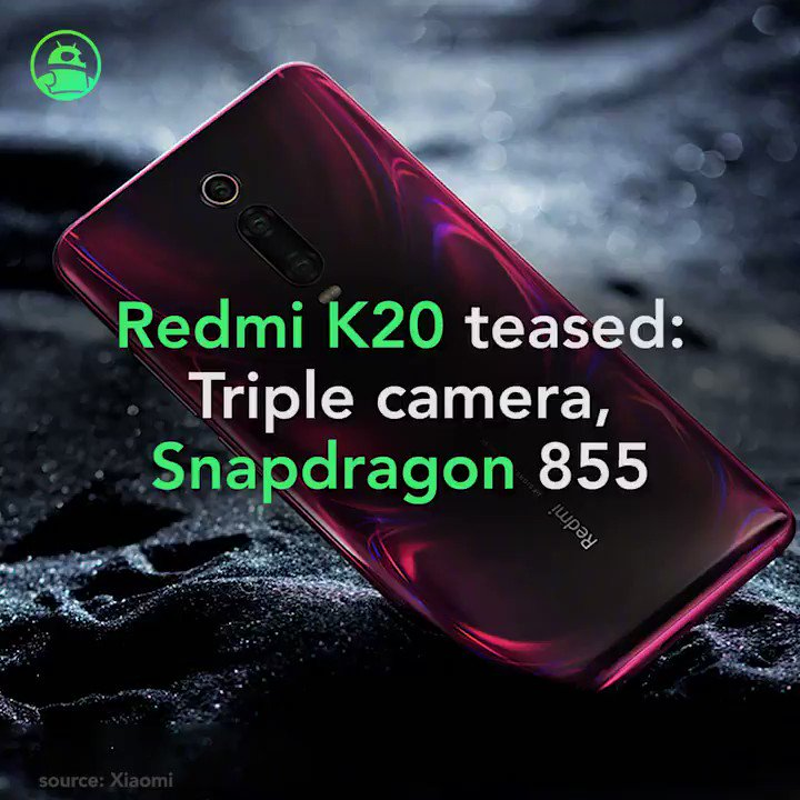 Image for the Tweet beginning: Xiaomi Redmi K20: All the
