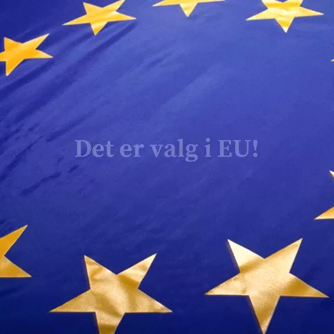Image for the Tweet beginning: Resultatene i EU-valget kommer først