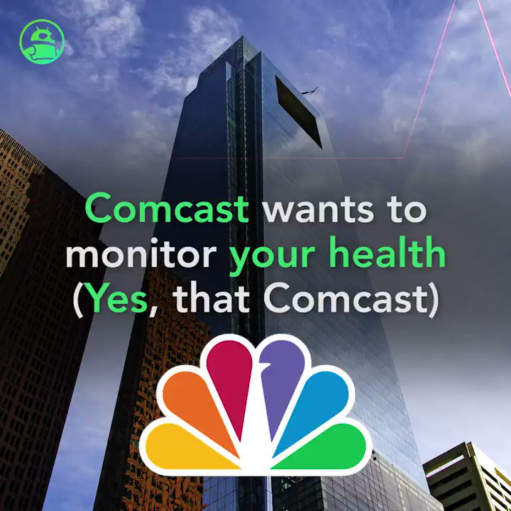 Image for the Tweet beginning: Comcast wants to monitor your