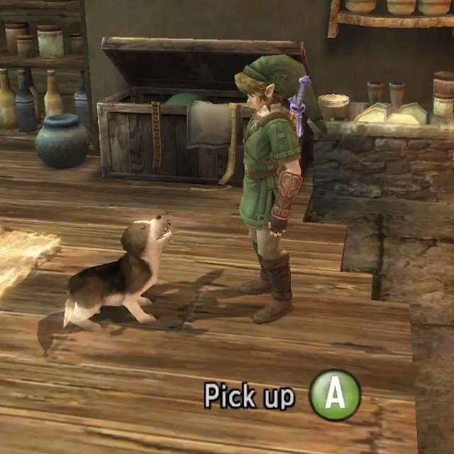 Can You Pet The Dog On Twitter You Can Hold The Dog In The Legend Of Zelda Twilight Princess