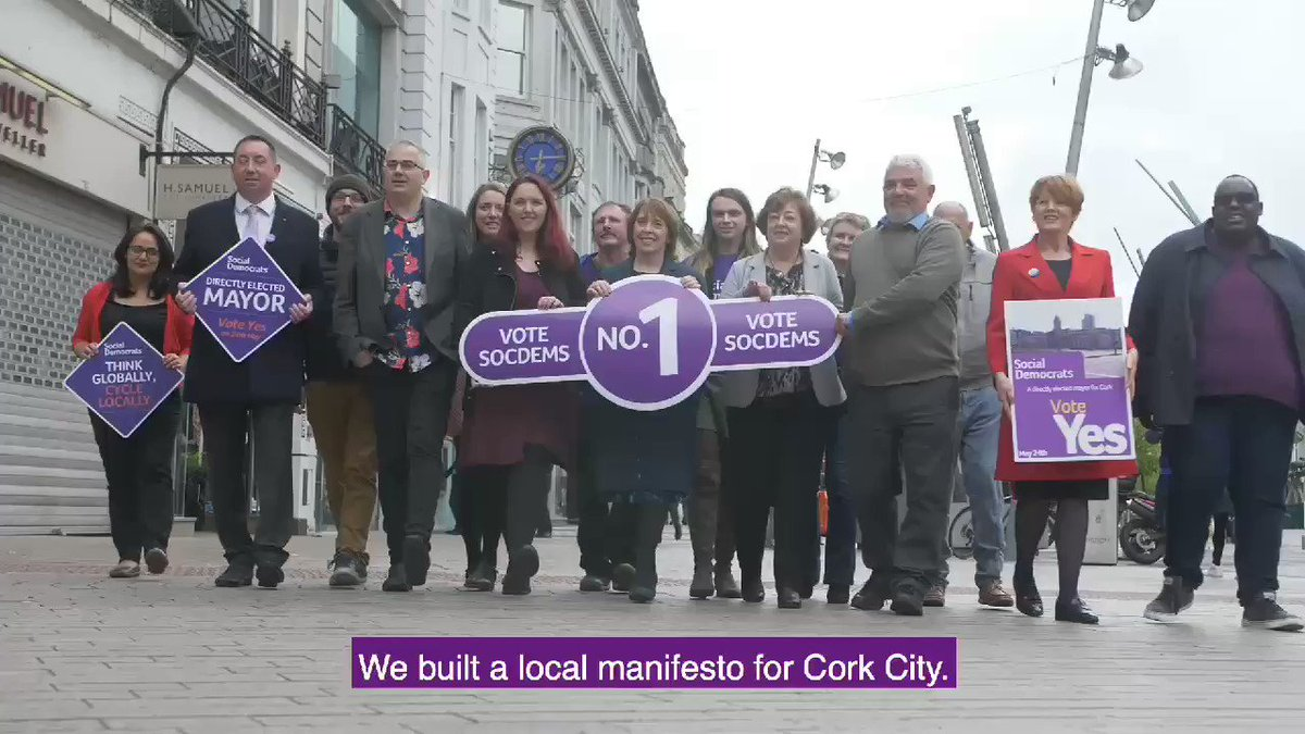 Image for the Tweet beginning: The @CorkSocDems are proposing a