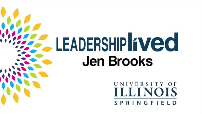 Leadership lived: #UISedu online student Jen Brooks of Bloomington recently got a chance to present her research on the teacher shortage at the Illinois State Capitol.   ➡️ Read More: https://t.co/6AE4UVLUq4 ➡️ Apply to UIS today: https://t.co/QBz6GEHuvZ https://t.co/x4JrcIOhVe