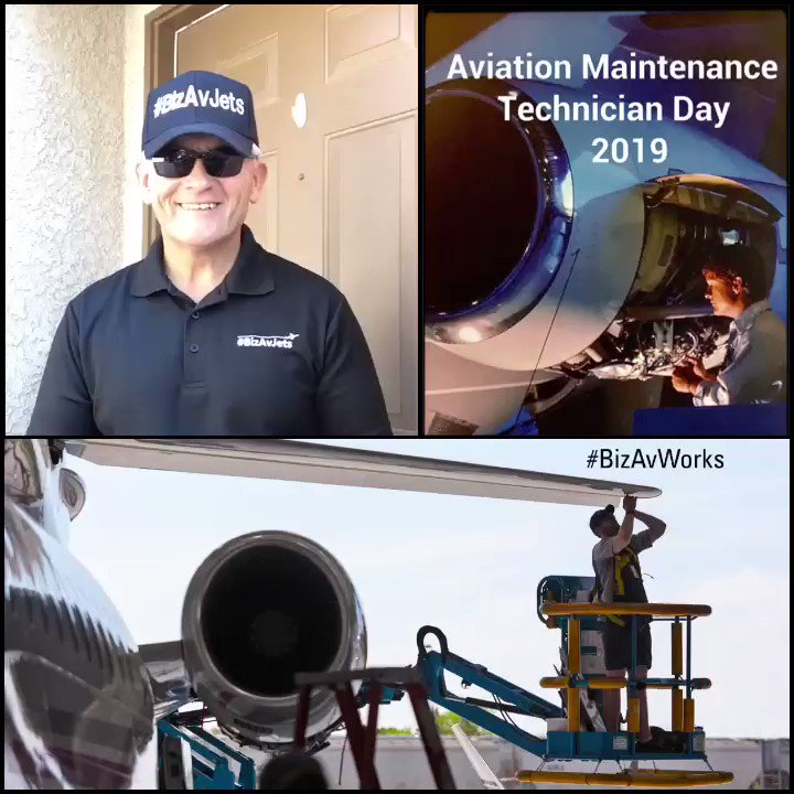 Thanks to all #AviationMaintenanceTechnician #Professionals For #Ensuring #Aircraft #Fly #Safely! #Aircraft Can Only Be On the #Ramp and #Ready for #Flight Through Your Efforts! Happy #AMTDay!  #AviationMaintenance #Aviation #BizAvJets #BizAvWorks #NBAA