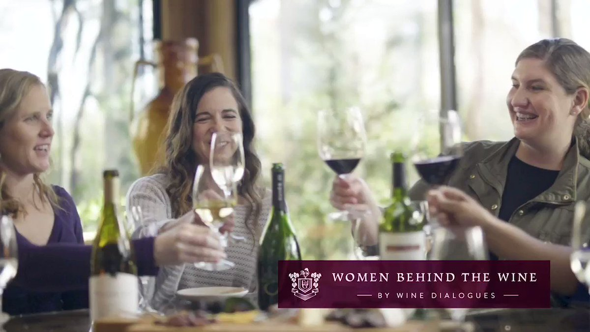 Image for the Tweet beginning: Women Behind the Wine by