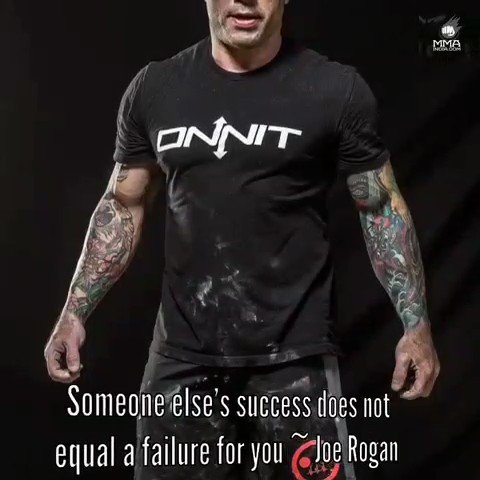 Someone else's success does not equal a failure for you  #ufc #mma #powerfulquotes #joerogan #quotes #quoteoftheday #motivationalquote #fightingspirit #mmaworld #fightgame #saturdaymotivation
