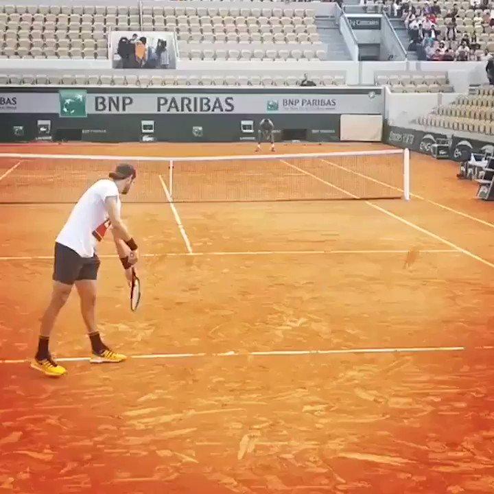 ATP Tour's photo on #rg19