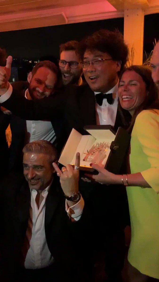 Jokers un jour, Jokers toujours.  #Parasite #Cannes2019