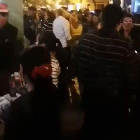 RT @elcomerciocom #ATENCIÓN | En Guayaquil hubo gente que salió a las calles tras el temblor de 7.7 registrado en Zamora Chinchipe