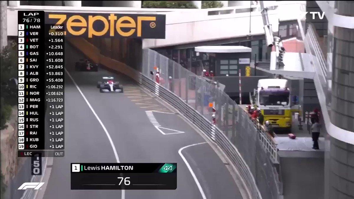Formule 1 GP Monaco: Botsing tussen Verstappen en Hamilton