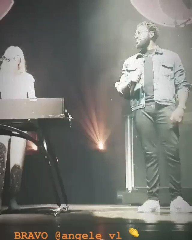 Damso a invité Angèle lors de son concert à Bruxelle ! #damso #dems #lithopedion #angele #concert #live #Bruxelle #Punchline #RapFr #Rap