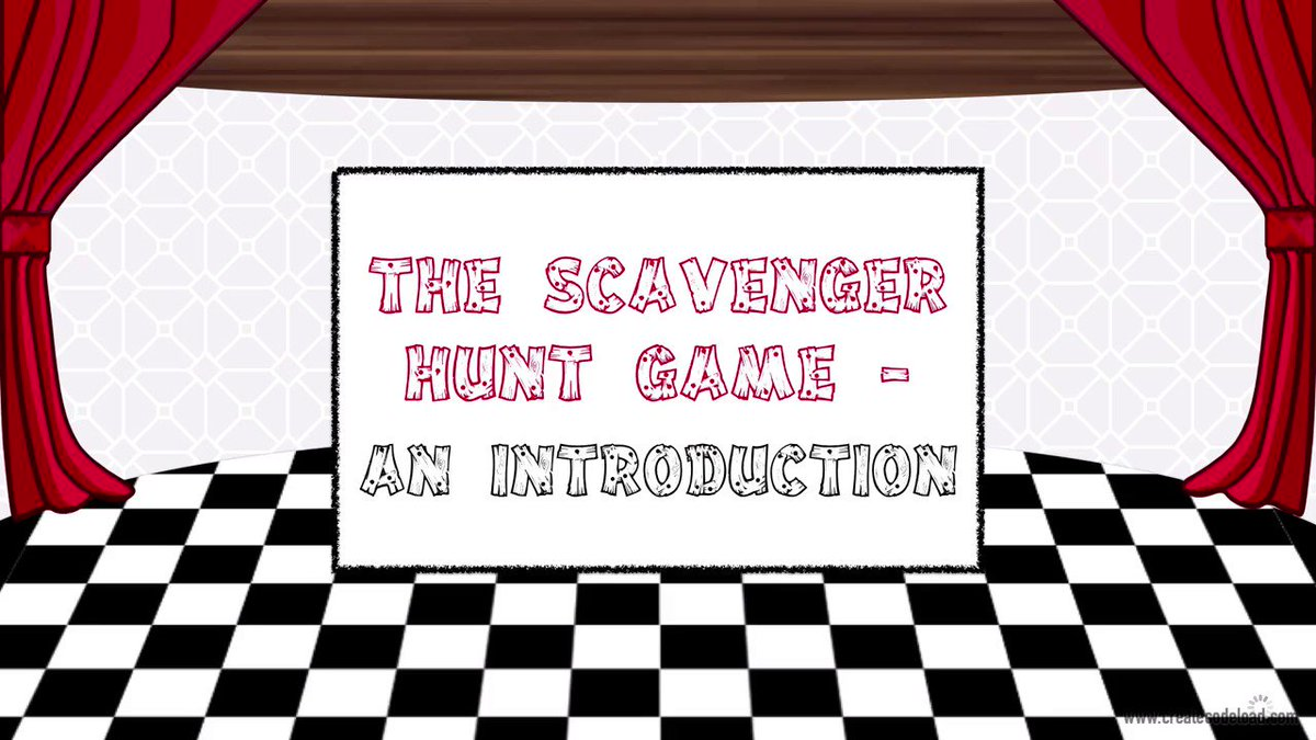 Get all 6 lessons and teach your students how to create this scavenger hunt game in #Scratch!  http://bit.ly/2JZzuFx #coding #lessons #teachers #gamify #edtech #stem