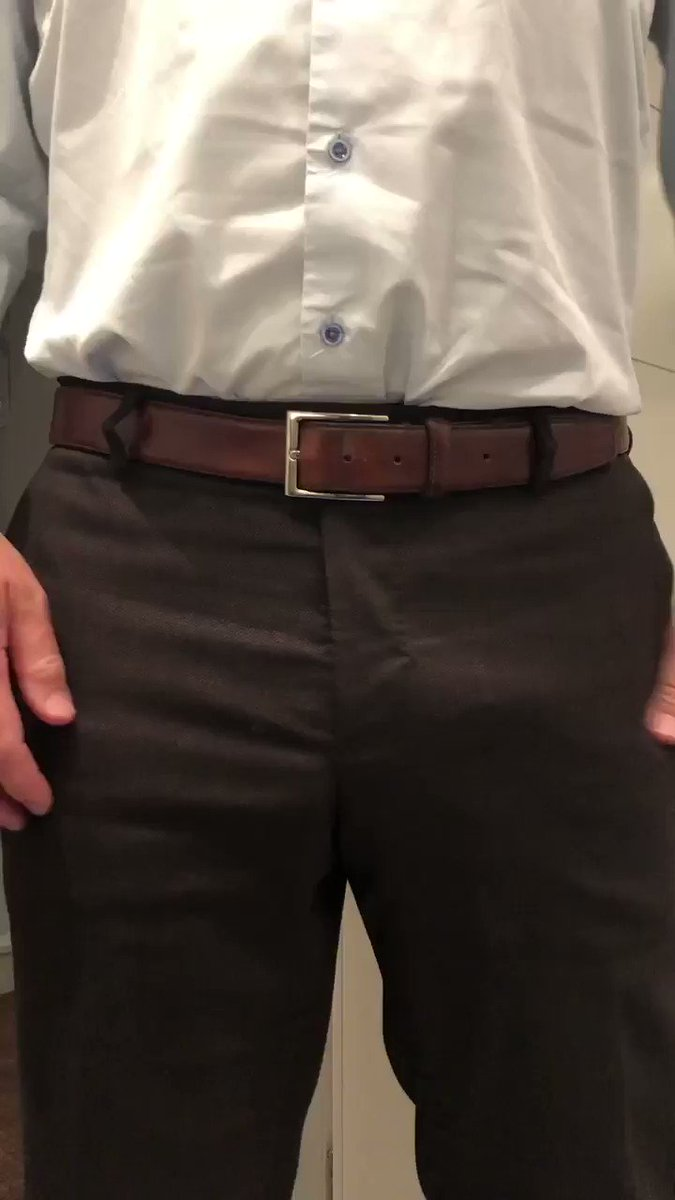 Putting on my cock ring before a big meeting. It's important to make a good impression! #cockring #uncut #bulge #bulgeoftheday #bigballs #exhibitionist