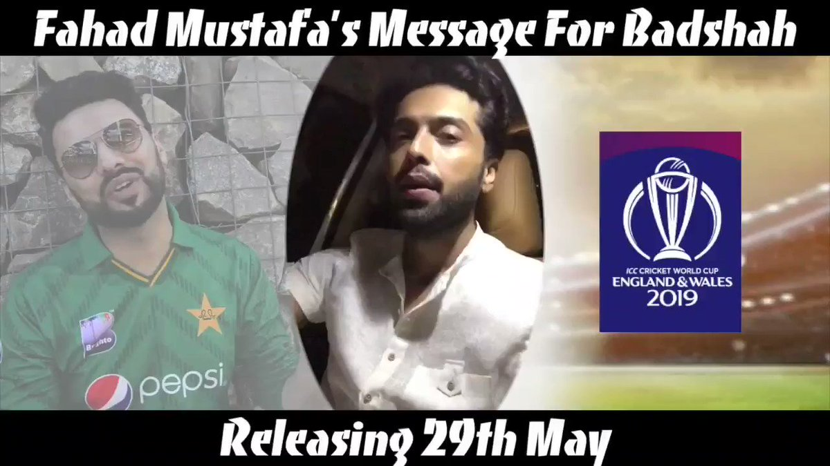 Thank you brother @fahadmustafa26 for your lovely message for Badshah. Releasing tomorrow