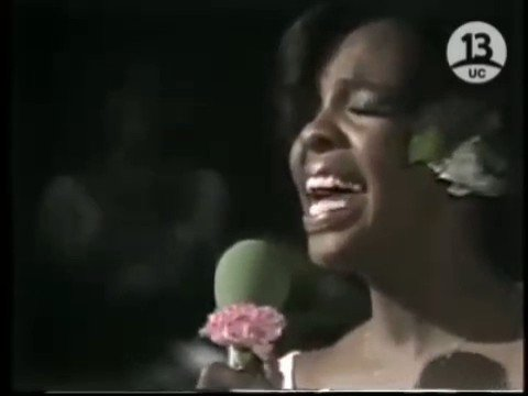 "Happy 75th Birthday to the""Empress of Soul,\"" the incomparable, Gladys Knight!"