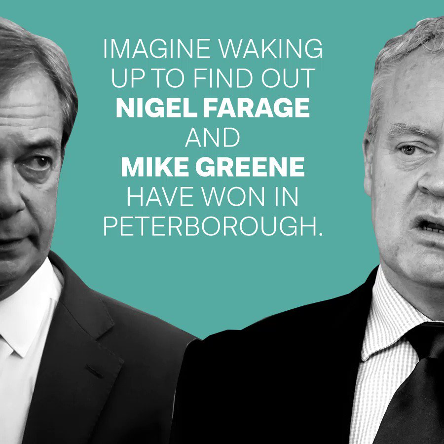 Only Labour's @LisaForbes_ can beat the Brexit Party in Peterborough. To help the campaign, sign up here: lisaforpeterborough.org.uk/get-involved-2…