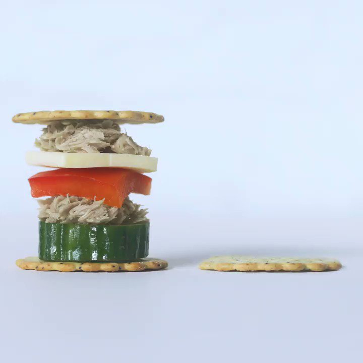 Image for the Tweet beginning: Stackers? Snackers? Snacker stackers? Whatever