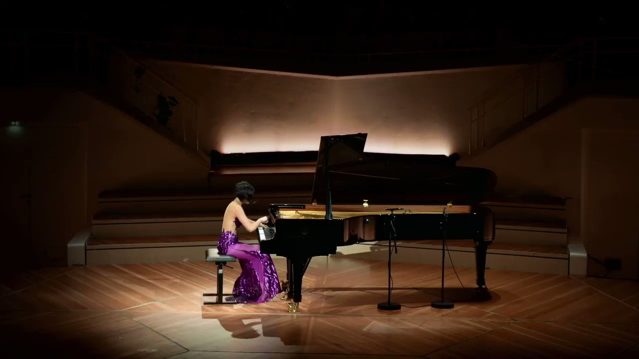 @SteinwayAndSons May 29 Virtuoso Steinway Artist @YujaWang performs Sergei Prokofiev's Piano Sonata No. 8 in B-flat Major, Op. 84, 3: Vivace @BerlinPhil on a Model D #Steinway. Video courtesy of @DGclassics: fal.cn/Azdt
