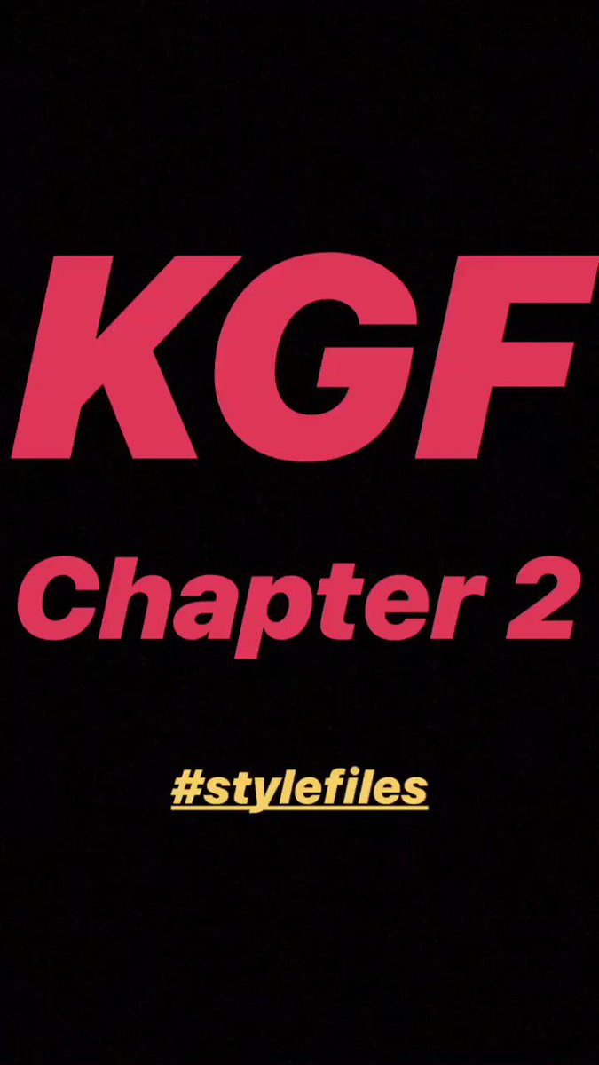 #newbeginnings #KGFChapter2  #stylefiles