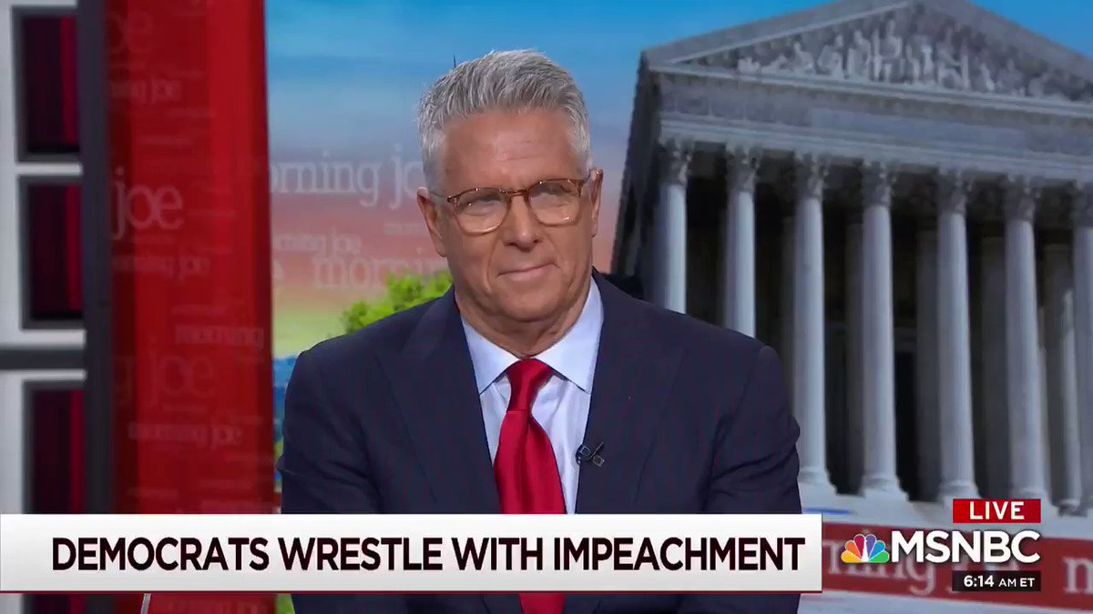 """You take the word impeachment, and you change it to 'criminal activity.'"" --@DonnyDeutsch has some thoughts for Democrats https://t.co/dS4To364fE"