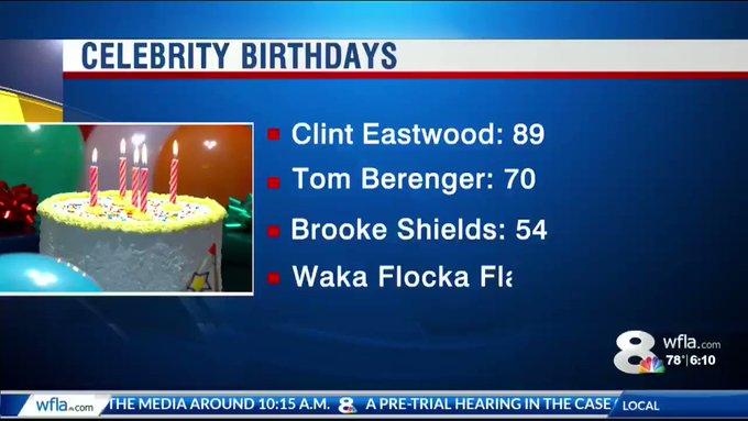Happy birthday !! Sorry and I had no idea it s actually Waka Flocka Flame