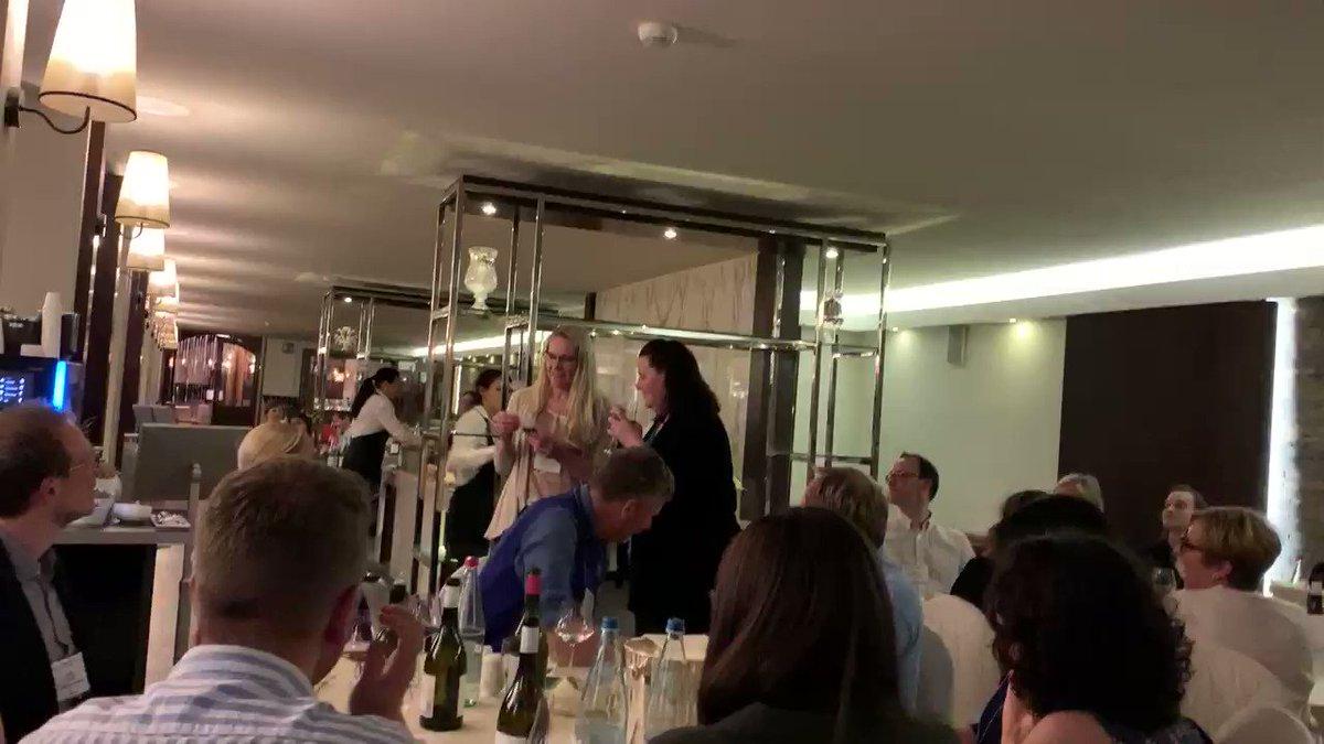 @brittaspen names the queen of #GRC2019 #virusesandcells as the incredible @jkpfeiff