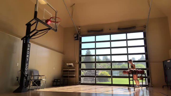 Crazy Shooting Video From NBA Player's Wife Is Going Viral