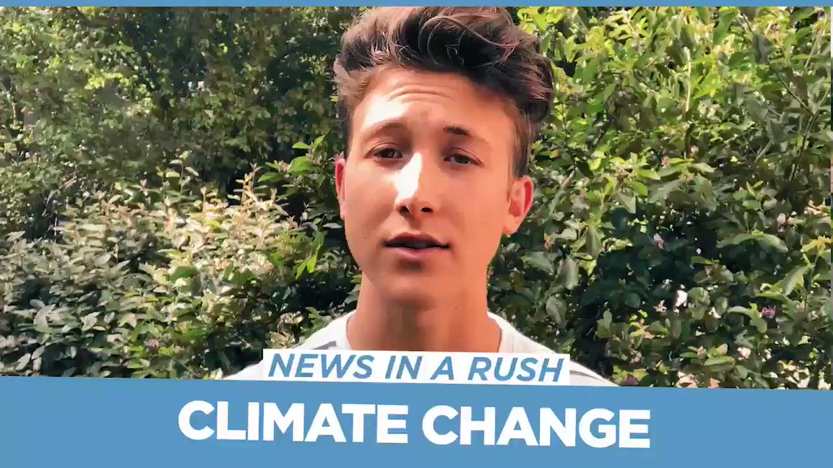 Let's talk about climate change. @thelukemullen hosts News in a Rush, tomorrow at 8:30pm EST.