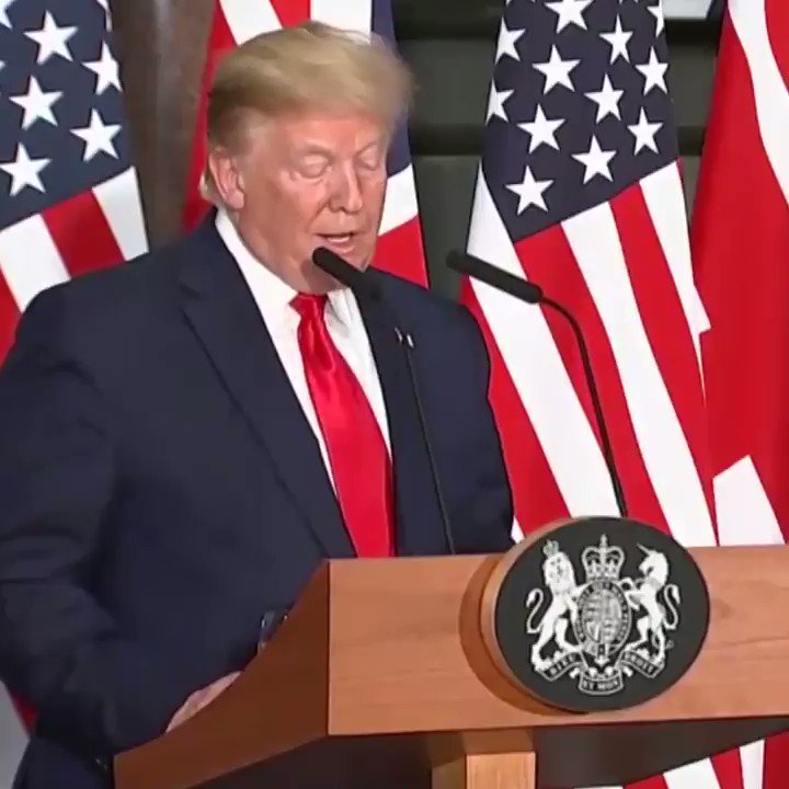 "WATCH | @realDonaldTrump slams @SadiqKhan as ""a negative force"" who should ""focus on his job and straighten out some of the problems he's caused"" - and reveals that ranting @jeremycorbyn actually asked him for a meeting and was turned down!  Support us at http://leave.eu/get-involved"