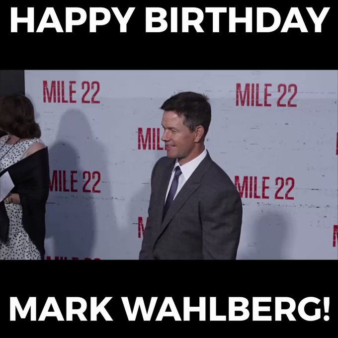 Happy Birthday, Mark Wahlberg!