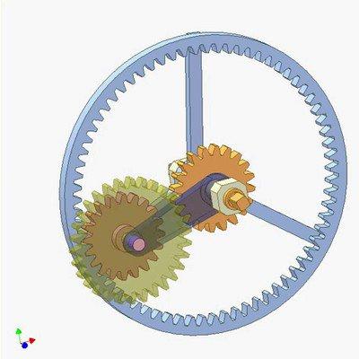 -Gear Planetary Mechanism B