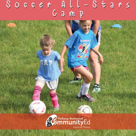 We're having a ball this week with Soccer All Stars Camp and All Star Basketball Camp in #communityedsummer