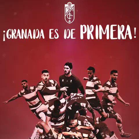 GLORIA A ESTE EQUIPO 🙌🏼🙌🏼🙌🏼🙌🏼🙌🏼🙌🏼🙌🏼  GLORIA A ESTA AFICIÓN 🙌🏼🙌🏼🙌🏼🙌🏼🙌🏼🙌🏼🙌🏼  GLORIA A TODA UNA CIUDAD 🙌🏼🙌🏼🙌🏼🙌🏼🙌🏼🙌🏼🙌🏼  ¡¡VOLVEEEEMOOOOSSS!!  #GranadaEsDePrimera #Granada
