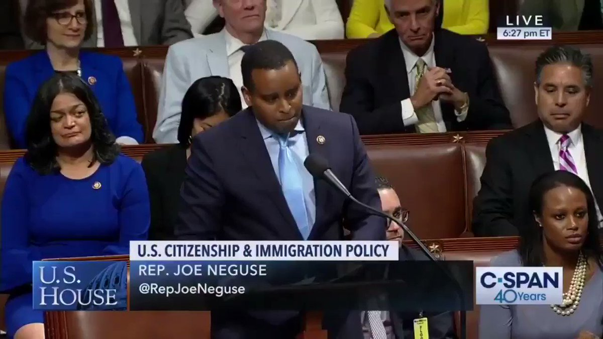 As the son of immigrants, I was beyond honored to deliver the rebuttal on the House floor as we debated HR6, and even prouder to cast my vote as we passed the #DreamAndPromiseAct tonight!