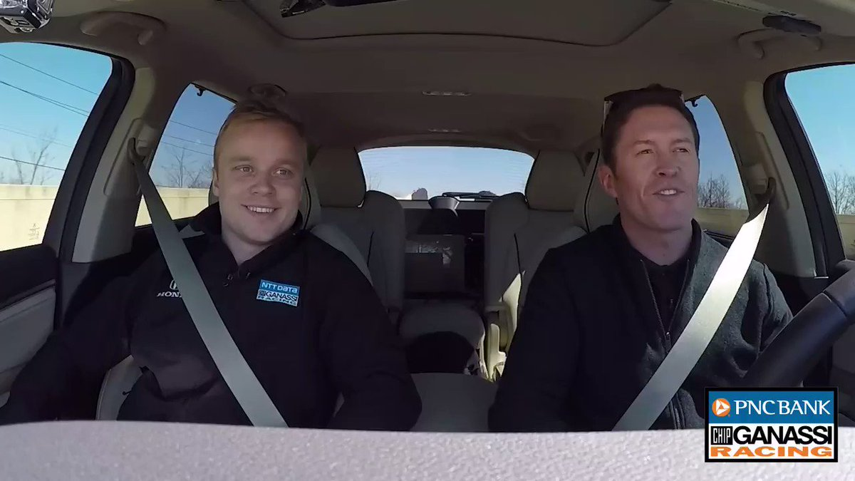 In the next #ALapWithScott episode, we paired our two #INDYCAR drivers, @scottdixon9 and @FRosenqvist together for a ride around town. Take a listen! @PNCBank | #BankOnThe9