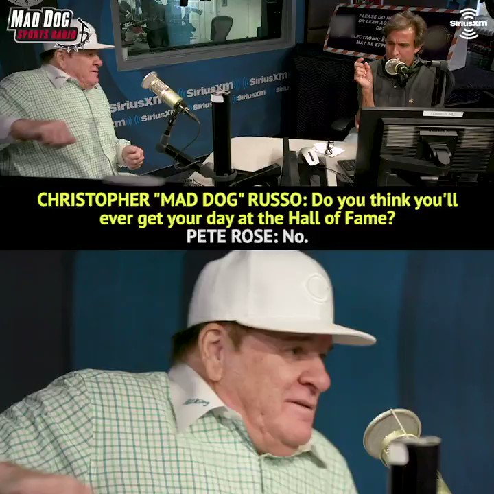 Pete Rose talks about his relationship with baseball and his desire to be a part of the game