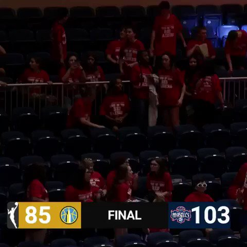 She flew over 8,000 miles to watch EDD play... This is what it's all about 🙏🏽 @De11eDonne @WashMystics   🎥: @WNBA