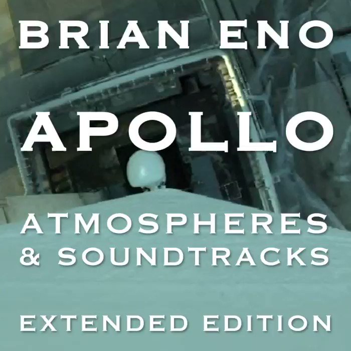 'Apollo – Atmospheres & Soundtracks – Extended Edition' out July 19th. Pre-Order here: bit.ly/2KxuDLZ