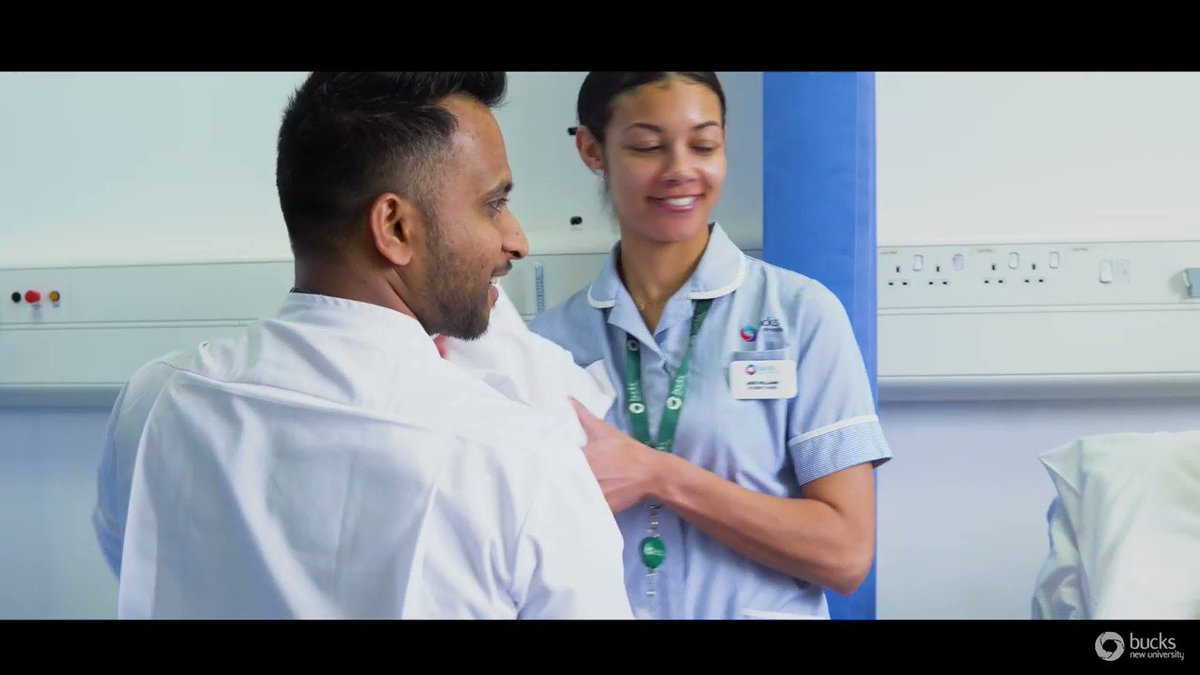 Want to become a nurse? 👩🏽‍⚕️👨🏻‍⚕️You can now choose to study our award-winning nursing programmes at our Uxbridge OR Aylesbury campuses. Visit bucks.ac.uk/nursing or call 0330 123 2023 to find out more. Watch the full video: bit.ly/whynursingatbu… #ThursdayThoughts