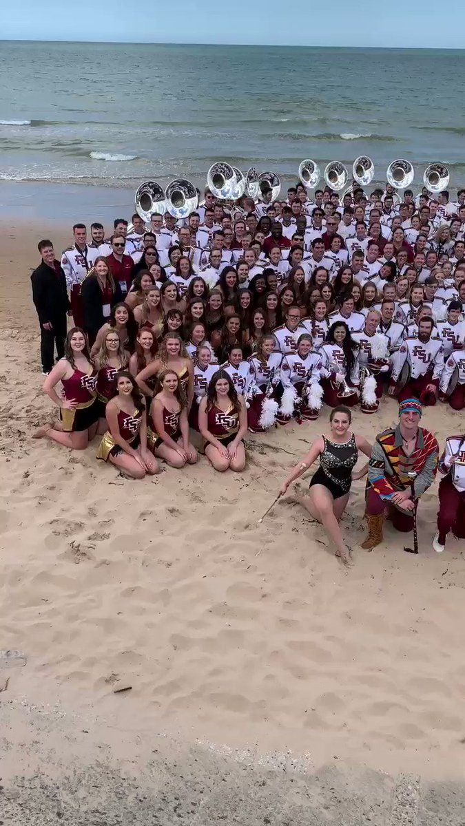Marching Chiefs on Omaha Beach in Normandy after completing the 75th Anniversary D-Day Parade. #proud #thankstothosewhoserved #freedomisnotfree
