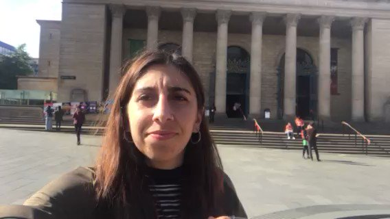 Message from Nicole. First-night @sheffdocfest about to see #AsifKapadia's #DiegoMaradonaMovie. Nicole is a student on the MA DOC course. She talks about her film and thoughts on the course. @NFSFilmTV @TheDocSociety #filmschool #documentaryfilm