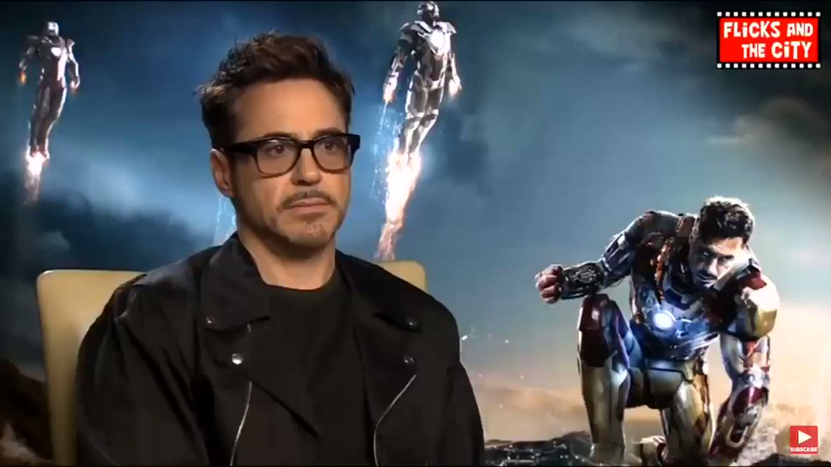 since we're talking about rdj's improvisations in the mcu let me bring this back everyone say thank you robert downey jr for iron man 3
