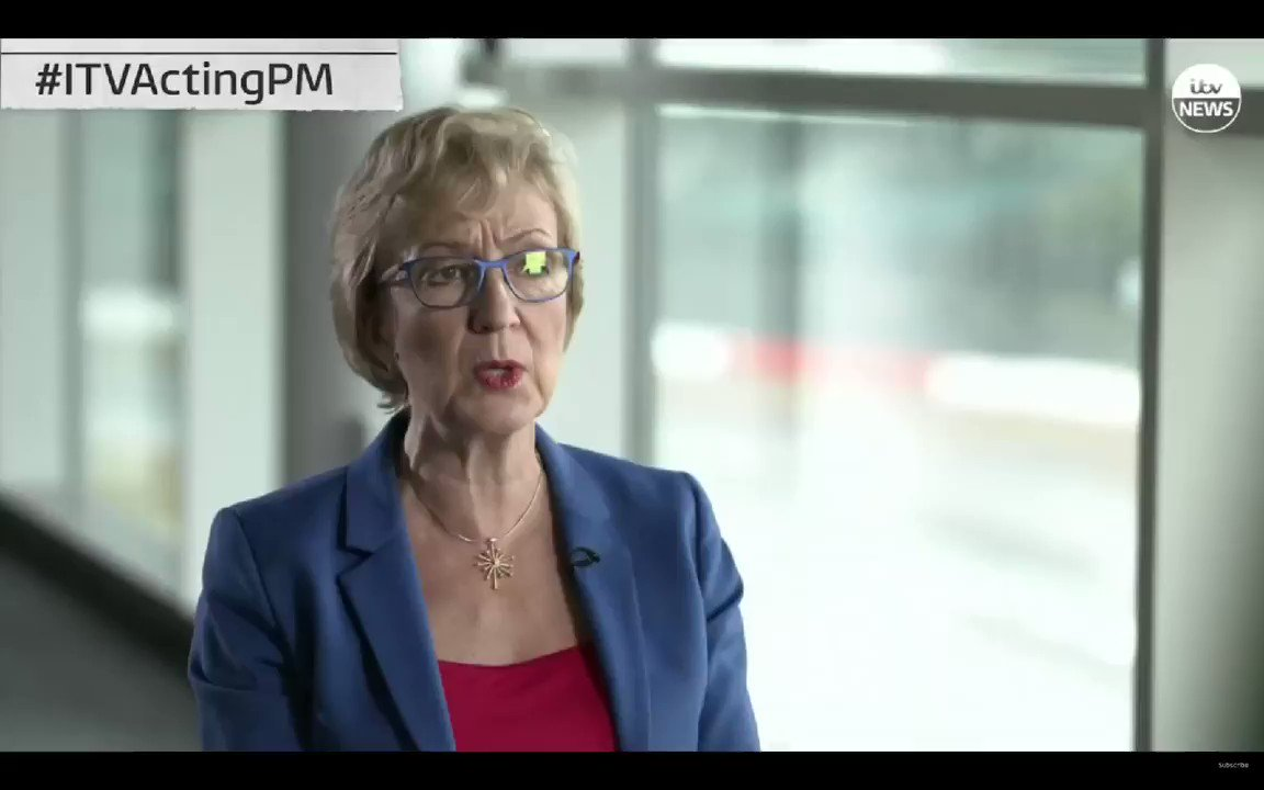 Andrea Leadsom - It was made very clear, in 2016, that people would lose their jobs in the event of a no-deal. 😮
