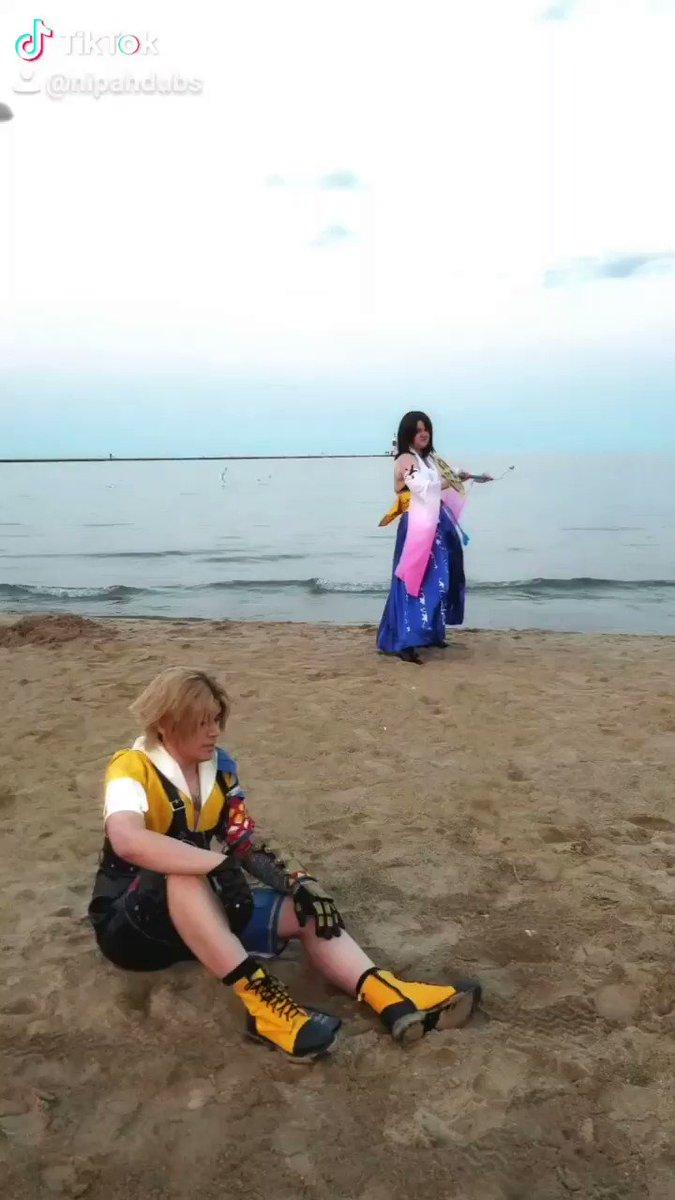 People die...and Yuna dances.  Tidus: Me Yuna: @MSRockbell