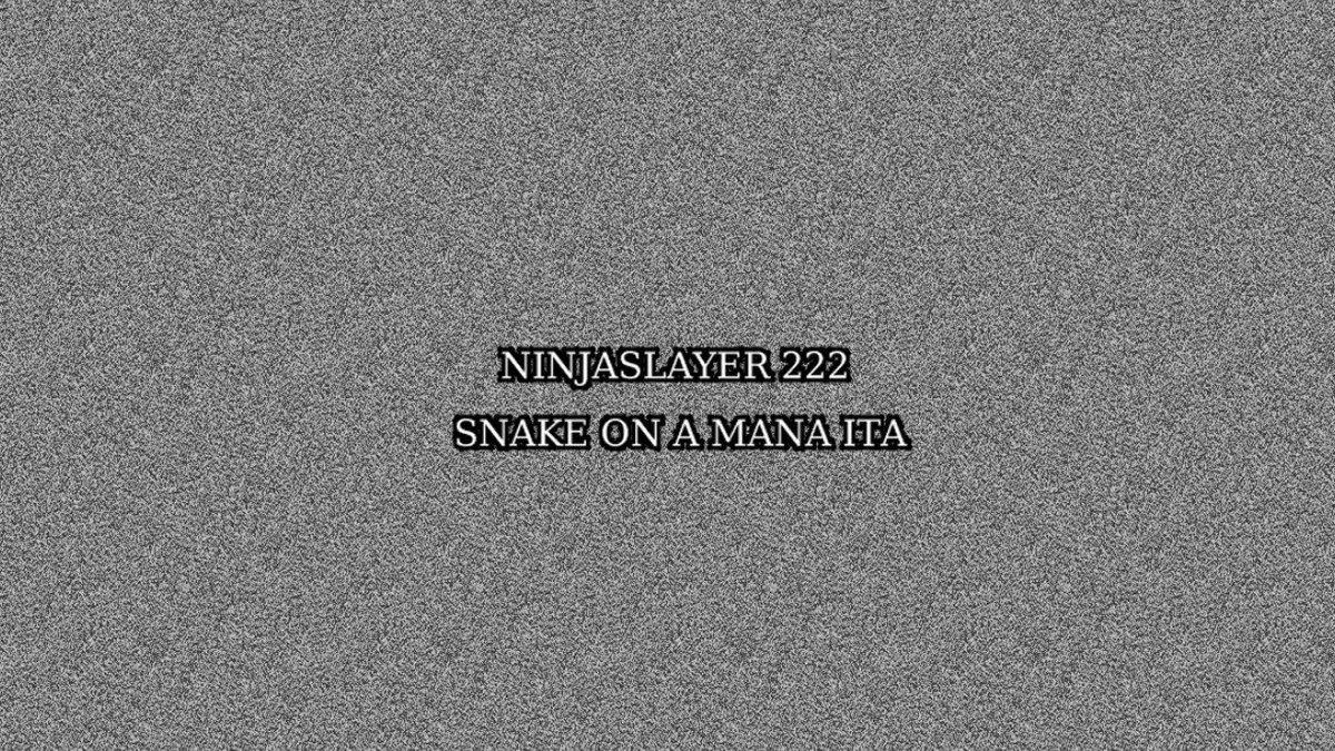 【参考動画】🕵️♂️以前ニンジャスレイヤーのDIYイベント「ニンジャスレイヤー222」に投稿した動画です。SNSが趣味の悪いニンジャを別のニンジャが殺す。なんやかんやで消してしまったんですが勿体無いので再アップしました🕵️♂️元のエピソード→