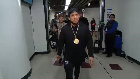 We are LIVE on PPV!!! Cejudo has arrived at @unitedcenter! #UFC238