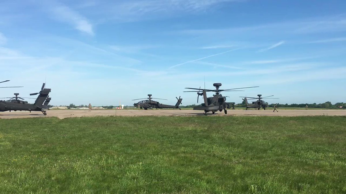 664 Sqn depart Wattisham on route for Croatia for Ex SWIFT RESPONSE 19. They will be supporting @16AirAssltBde with CH-47 from @RAF_Odiham and Wildcat RH from @ForceAviation. See you there @Joint_Heli @dcomd_jhc #acrossallboundaries