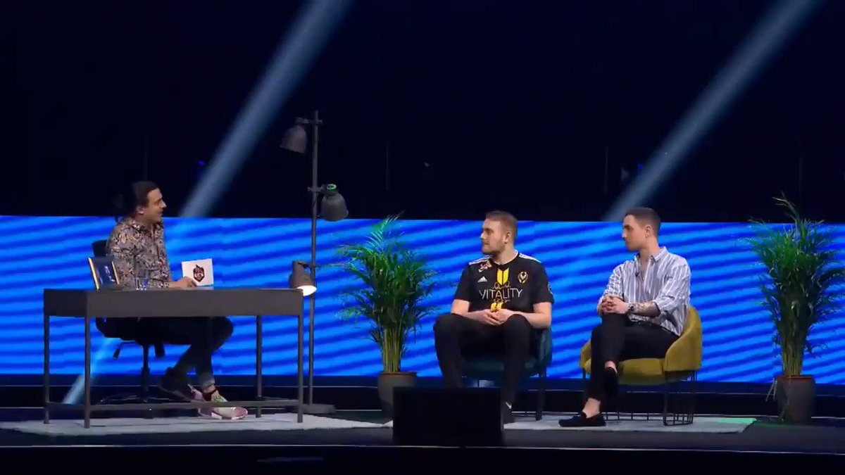 Some of the highlights from yesterday's ECS After Dark featuring @HenryGcsgo, @GeT_RiGhT and @JasonBWLake 👇  Tune in NOW for #ECSAfterDark with #ECS7 Champions @TeamVitality - they're taking your questions - you can win an i9 2080ti PC!   Tune in NOW https://caffeine.tv/faceit