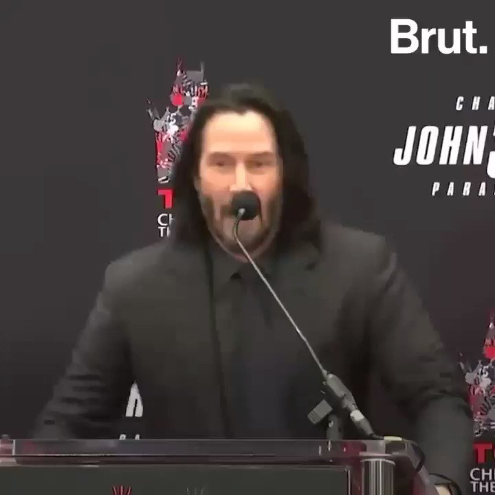 Hard agree, Keanu.