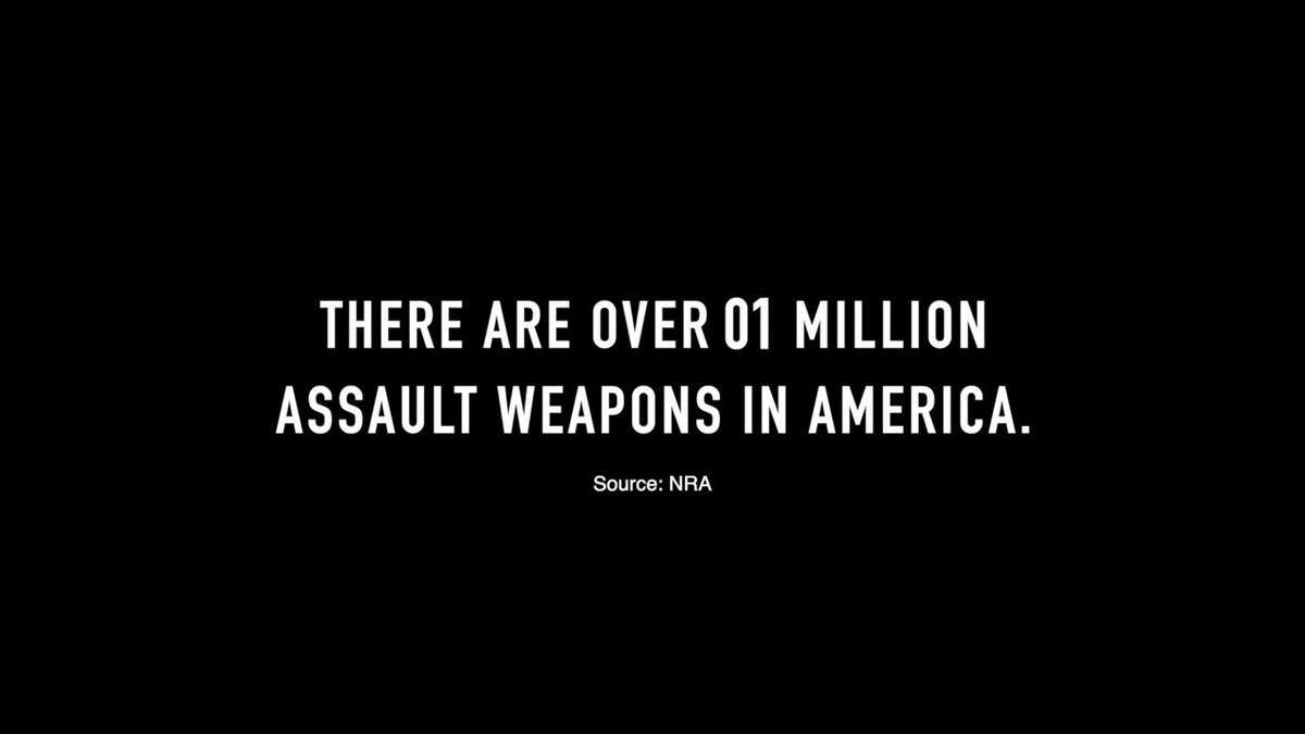 We need to get weapons of war off our streets and out of our communities. We need to #BanAndBuyBack every assault weapon in America. And we need to keep our children safe from violence and fear.  I will fight for this. Will you join me? Click here ▶️ https://bit.ly/2K8w1Wf